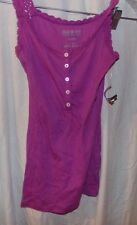 1 LOT OF 2 WOMANS NWT XS TANK TOP SHIRTS ONE LIME GREEN AND ONE MAROON