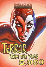 Sci-Fi Horror Movie Posters 2 Sketch Card from Trev Murphy
