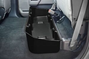 2015-2019 Ford F150 Crew Cab DU-HA Black Under Rear Seat Storage 20110