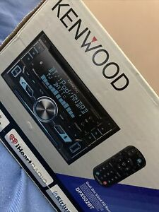 Kenwood DPX502BT Car Stereo Blutooth Dual Din Sized CD Receiver W/USB Interface