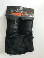 Dbx Protective Set Includes Knee Pad, Wrist Guard & Elbow Pads- Youth Medium