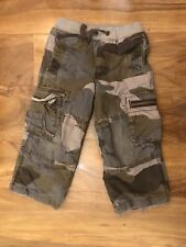 Mini Boden Boys Brown Camouflage Combat Trousers Age 3