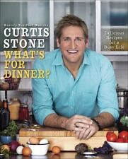 Curtis Stone What's for Dinner Hardcover Cookbook more than 130 weekday recipes