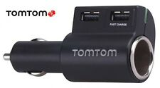 TOMTOM/TOM TOM GO/ONE/XXL/VIA/START/RIDER HIGH SPEED USB SCHNELL MULTI LADEGERÄT