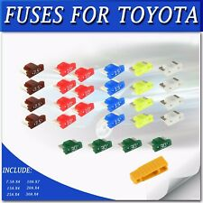 FUSES FOR TOYOTA CAMRY HILUX SERIES 7.5A 15A 20A 25A 30A ASSORTMENT KIT FUSES AU