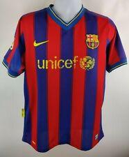 Nike FC Barcelona Shirt Jersey FCB Unicef Xavi 6 Blue Red Striped Mens Medium?