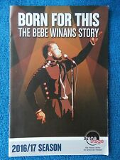 Born For This - Mead Center Theatre Playbill - 2016 - Juan Winans