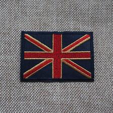 UK Flag Embroidered Sew Iron On Union Jack Patch United Kingdom Badge Transfer