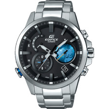 Casio Edifice EQB-600D-1A2ER Mens Watch Solar Bluetooth Alarm Chronograph
