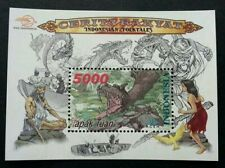 Indonesia Folktales 2000 Dragon Tales Story Comic Monster (ms) MNH