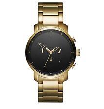 MVMT Watches CHRONO BLACK AND GOLD Men's Watch Chronograph MAN ORIGINAL MVMT