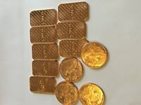 Walking Liberty 12 pack of 8 bars and  4 coins-1 ounce each by REEDERSONG