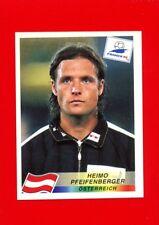 WC FRANCE '98 Panini 1998 -Figurina-Sticker n. 151 -PFEIFENBERGER-ÖSTERREICH-New