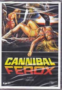 Dvd CANNIBAL FEROX di Umberto Lenzi nuovo 1981