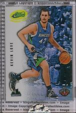 KEVIN LOVE ROOKIE CARD 2008 eTopps #4 Cleveland Cavs #/749 IN HAND RRO T-Wolves