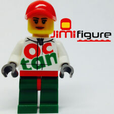 NEW LEGO Minifigure Race Car Mechanic 60115 4x4 Off Roader Genuine Lady Woman