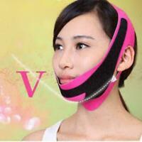 Ultra dünne Kinn Wange Slim Lift Up Anti Falten Maske Strap Band V Gesicht C8O2