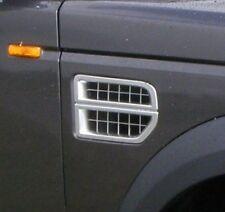 Original Land Rover Discovery 3 Seite Gitter Silber Lufteinlass JAK000065MMM