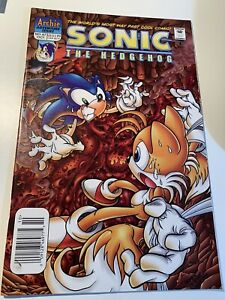 SONIC The HEDGEHOG Comic Book  #87 October 2000 First Ed Bagged & Boarded VF+
