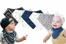 Baby Bandana Drool Bibs, Girl or Boy, 5 Pack, Premium Baby Bibs,