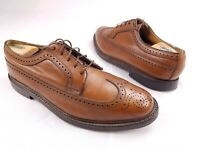 Florsheim Imperial 5 Nail V-Cleat Leather Longwing Dress Shoes Mens 9EEE 651959