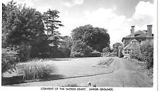 "VINTAGE RP POSTCARD ""CONVENT OF THE SACRED HEART JUNIOR GROUNDS MAIDSTONE KENT""."