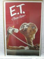 E.T. EXTRATERRESTRIAL MOVIE CHARACTER VINTAGE POSTER GARAGE 1982 CNG671