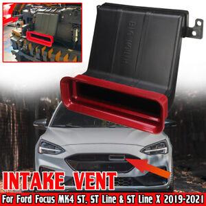 For Ford Focus MK4 ST, ST Line / X 2019+ Red Car Bonnet Air Flow Vent