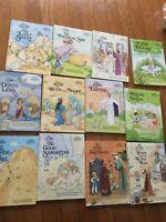 BOOK LOT OF 12 children's bible stories short stories books  Daniel Esther more