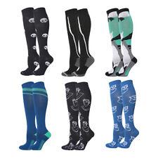 6 Pairs Running Travel Pregnant Cycling Hiking Compression Socks 20-30mmHg