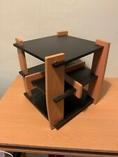 Wooden CD Rack Carousel Storage For 104 CDs