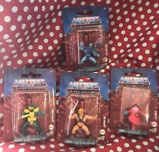 Masters of the Universe Set of 4 Figures (Micro Collection) Brand New. He-Man.
