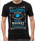 Star Wars T-shirt Han & Chewie's Smugglers Whiskey Black T-shirt Film Fan Tshirt