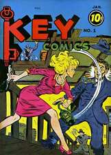 Key Comics/Lucky Comics/Tops Comics Golden Age Comic Collection on CD ROM