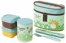 My Neighbor Totoro Stainless Thermal Bento Lunch Box Set with Fork Japan Made