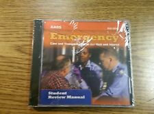 Aaos Emergency Care Transportation Of The Sick And Injured Emt Student Manual Cd