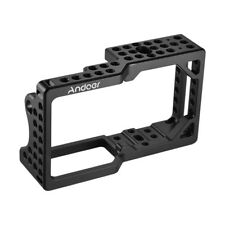Andoer Video Camera Cage Stabilizer Protector for BMPCC Camera to Mount F6O0