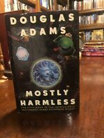 1st edition 1st printing of Mostly Harmless by Douglas Adams!! Quite Nice!!