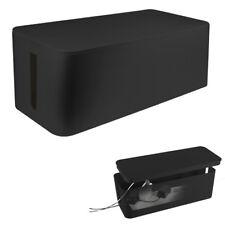 Kabelbox Organizer Box 407x157x133mm Kabelmanager Kabel Box Stecker Aufbewahrung