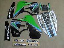 FLU PTS2  GRAPHICS KAWASAKI  KX500 1988-2005