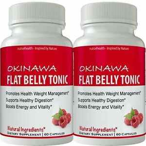 Okinawa Flat Belly Tonic 2 BOTTLE PACK (NOW IN CAPSULES) Powder