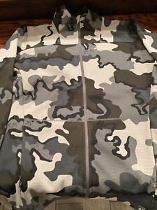 Kuiu Peloton 240 Full Zip Jacket Men's Medium Vias Pattern
