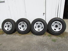 "GMC/CHEVY TRUCK-VAN 16"" 8 LUG ON 6.5"" STEEL WHEELS AND TIRES - (OEM)"