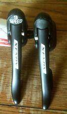 CAMPAGNOLO XENON 9 SPEED ERGO LEVERS WITH CABLES, STI