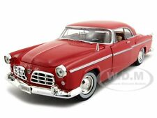1955 CHRYSLER C300 RED 1/24 DIECAST MODEL CAR BY MOTORMAX 73302