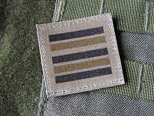 Galon - LIEUTENANT COLONEL BASSE VISIBILITE - grade officier kaki OD TTA