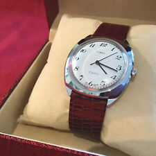 Clean vintage 1978 Easy-reader Timex Electric Wristwatch 7705026078 Dial England
