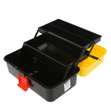 Three-layer Folding Tool Box Multi-function Household Container Storage Fall
