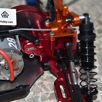 Aluminum Back Rear Gearbox Kit for LOSI 1/18 Mini-T 2.0 2WD Stadium Truck RTR
