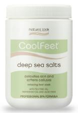Natural Look Cool Feet CoolFeet Deep Sea Salts 1.2kg Spa Formula Foot Soak